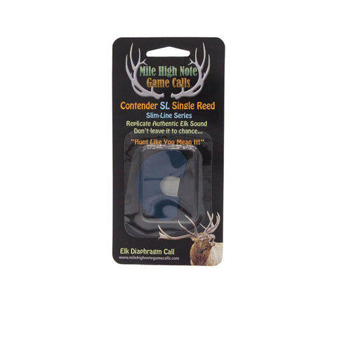 mile high note game calls contender slim line sl single reed diaphragm elk call