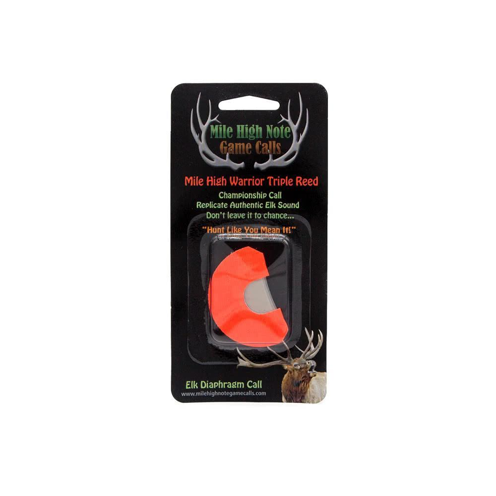 mile high note game calls mile high warrior triple reed diaphragm elk call