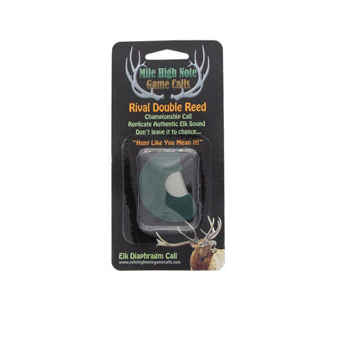mile high note game calls rival double reed diaphragm elk call