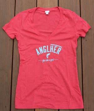 Anglher Graphic Tee Red