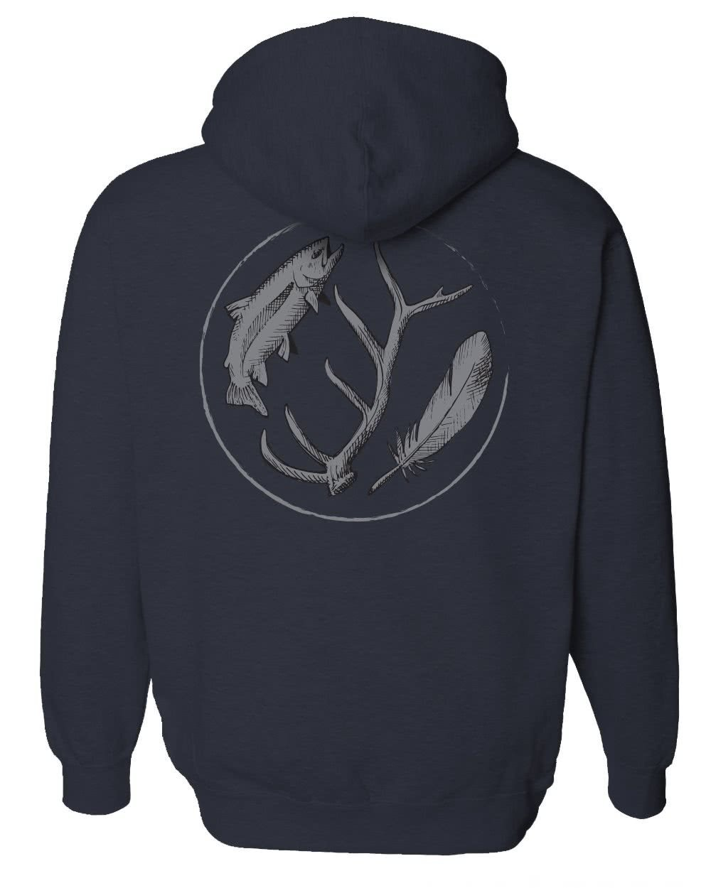 rep your water wild water mid-weight hoody back