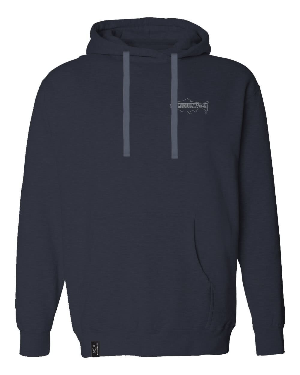 rep your water wild water mid-weight hoody front