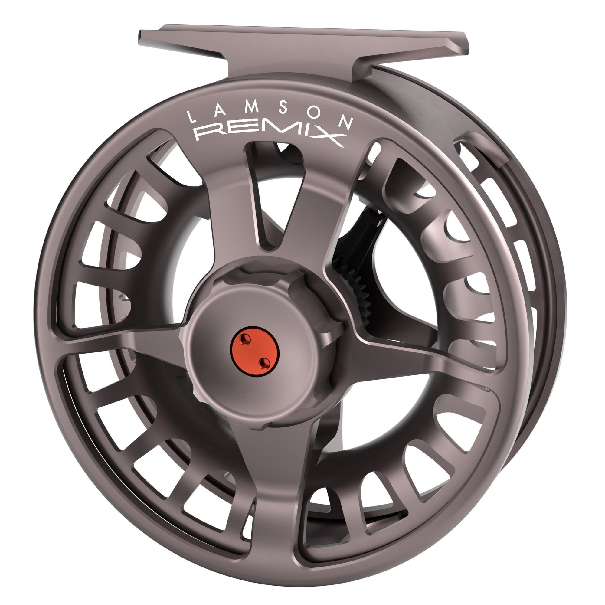 waterworks lamson remix fly reel smoke back