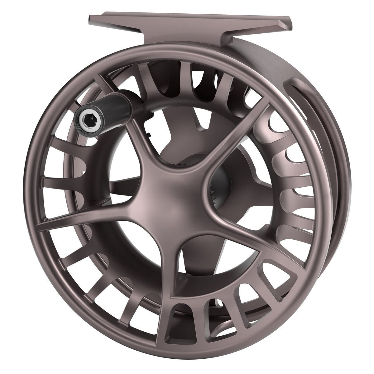 waterworks lamson remix fly reel smoke front