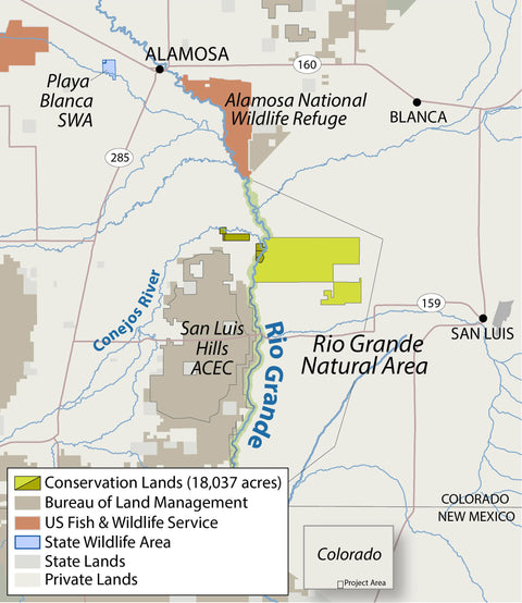 Western Rivers Conservancy Rio Grande Project