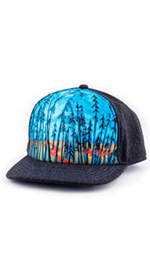 art4all by Abby Paffrath Timber Trails Foam Trucker Hat