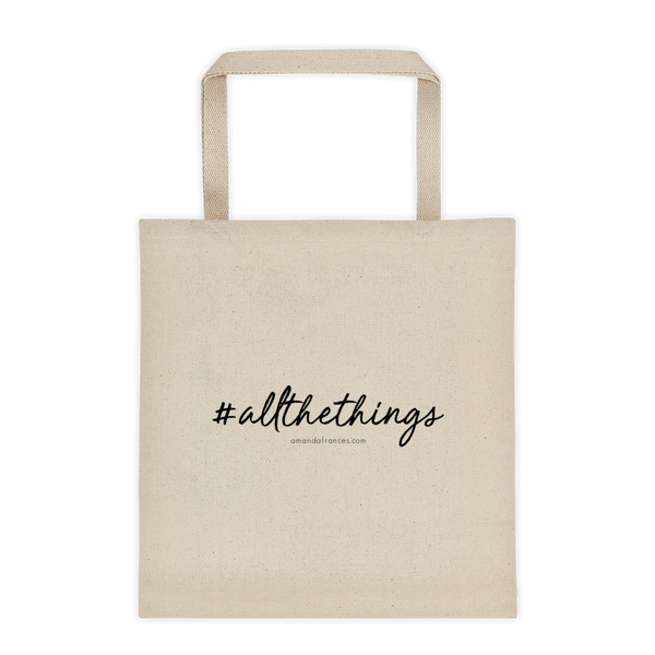#allthethings — Tote bag