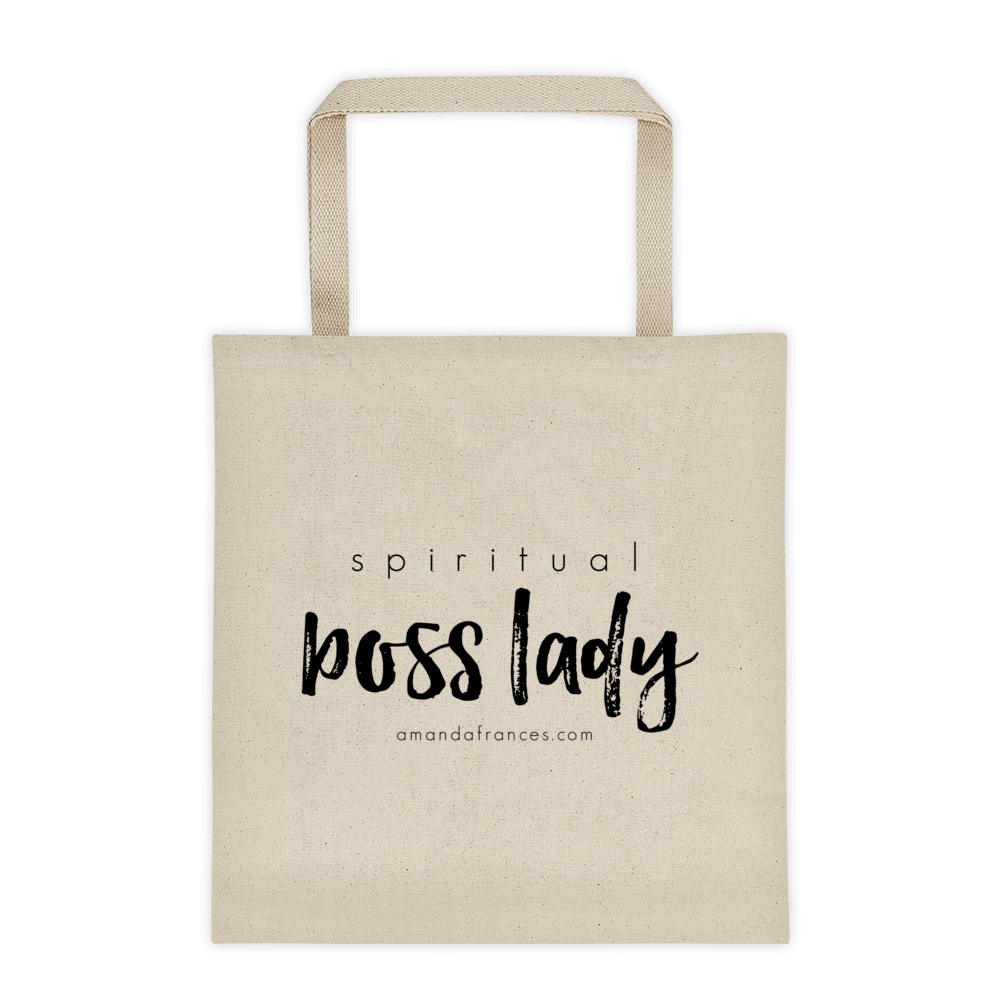 Spiritual Boss Lady — Tote bag