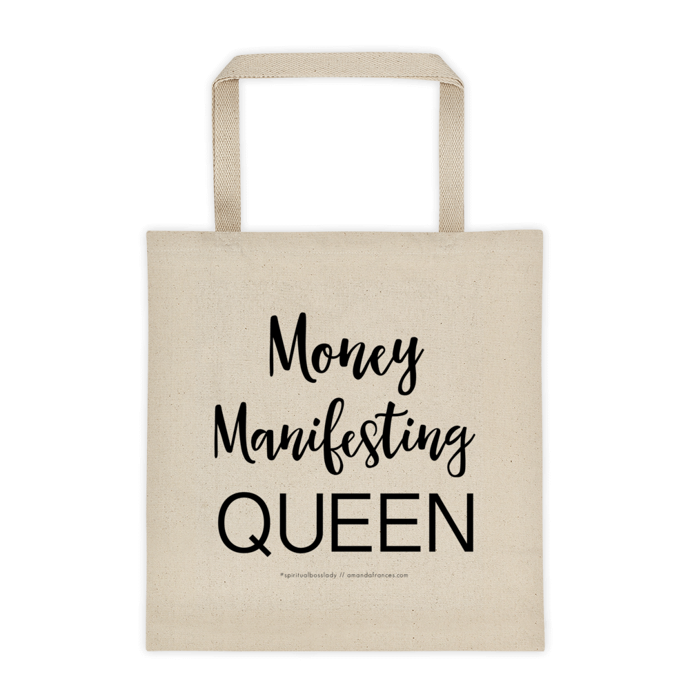 Money Manifesting QUEEN — Tote Bag