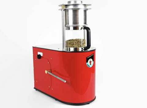 Sonofresco Flagship Roaster 2 Pound Red - MyJavaRoaster
