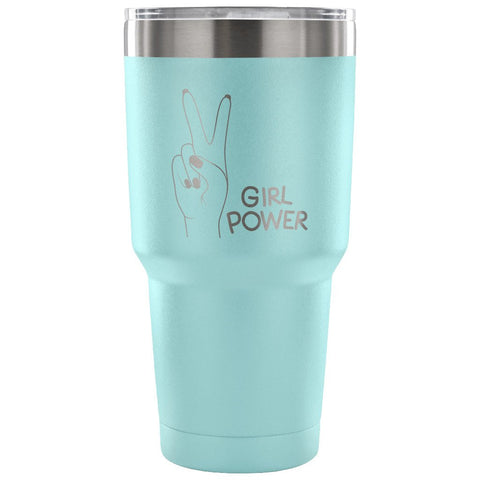 Girl Power 30 oz Tumbler - Travel Cup, Coffee Mug - MyJavaRoaster