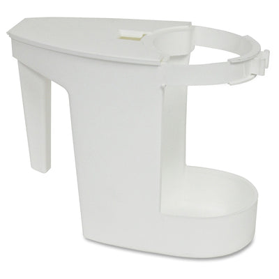 White Toilet Caddy