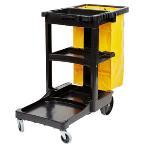 Janitor Cart Including Bag