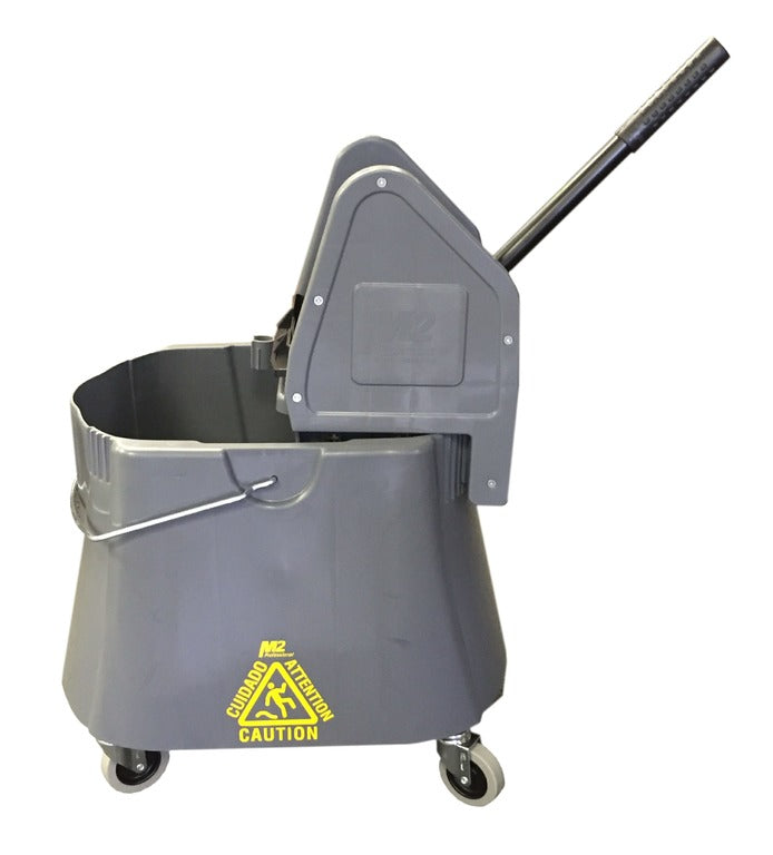 40 Qt/37L Downpress Elephant Foot Bucket And Wringer
