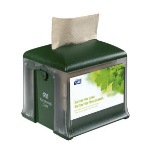 Tork Xpressnap Café® Napkin Dispenser (Green)