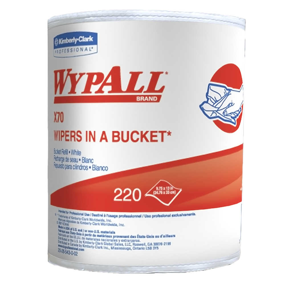 WYPALL WIPERS IN A BUCKET REFILL