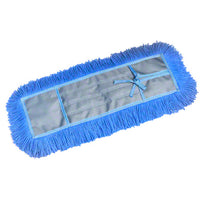 Dustmop Static-A Refill, Blue, Universal Backing