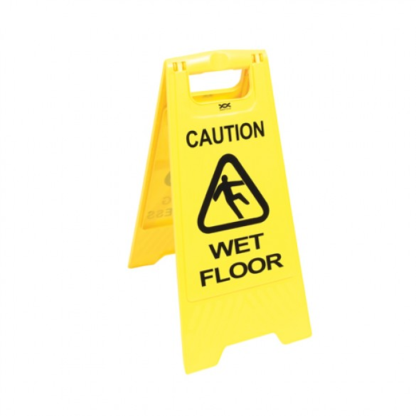 Wet Floor Folding Signs