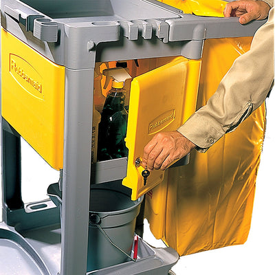 Rubbermaid Locking Janitor Cart Cabinet