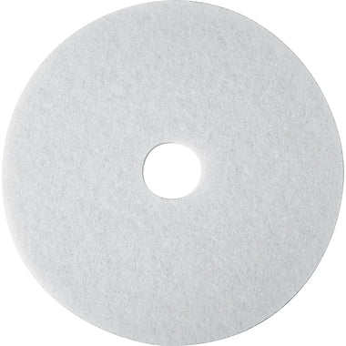 3M White Super Polish 4100 Floor Pad