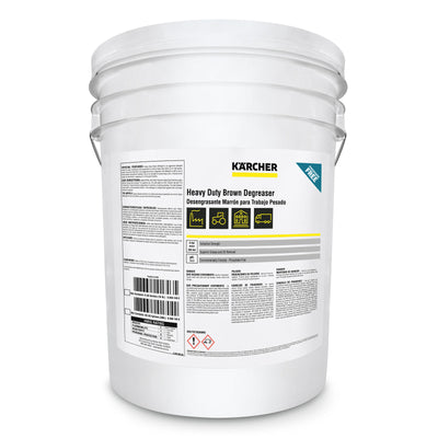 Karcher Heavy Duty Brown Degreaser, 5-gal