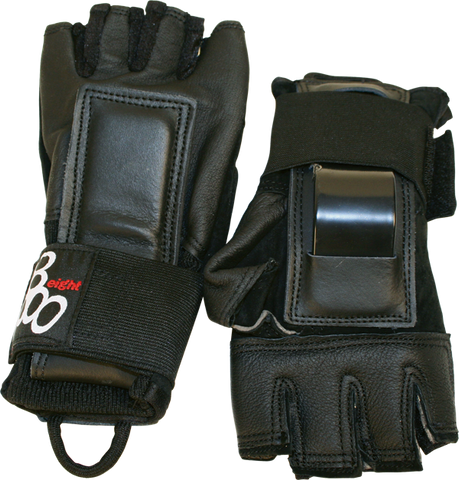 TRIPLE 8 HIRED HANDS GLOVES L-BLACK