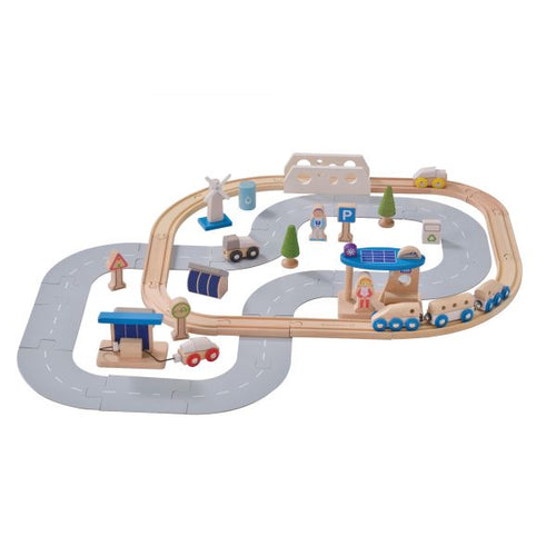 Eco City Train Set