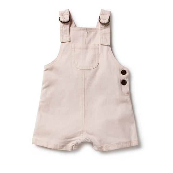 Angel Wing Overall - Light Pink