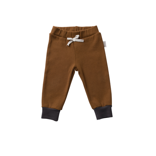 Baby Boys Comfy Pants - Bronze