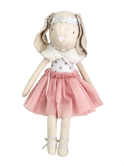 Blair Bunny in Capelet - Blush 40cm