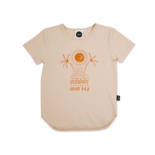 Boho Placement Drop Back T-shirt
