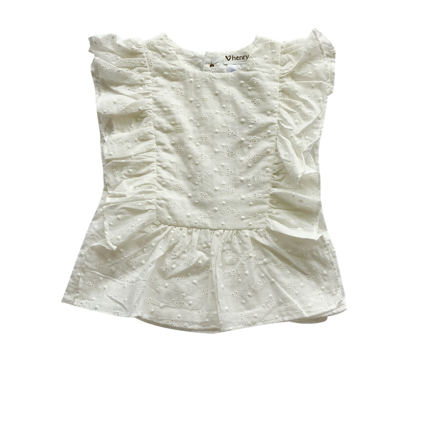 Bonnie Top - White