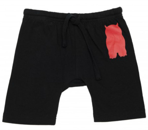 Monster Short - Black