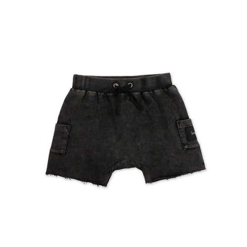 Essentials Acid Wash Shorts