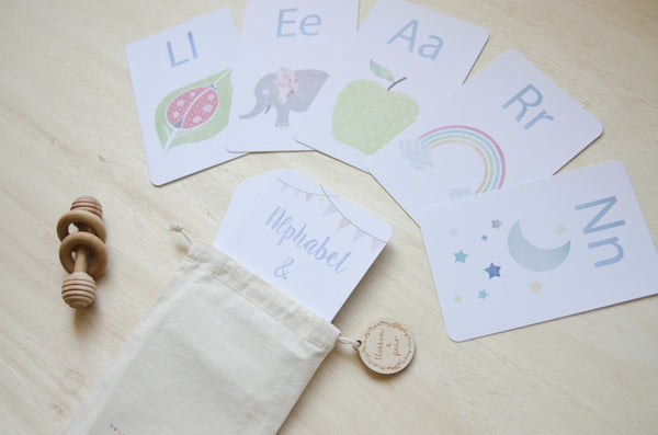 Alphabet & Number Flash Cards
