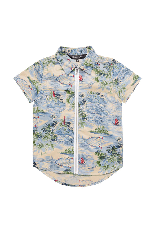 Hawaii Zip Shirt - IN STOCK size 5, 6