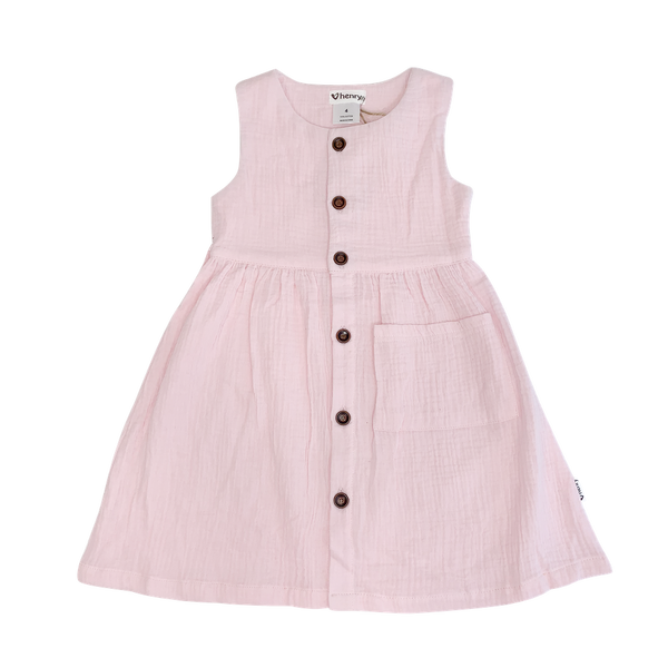 Harriet Sun Dress - Dusty Pink