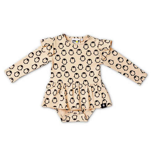 Penguin Baby Flutter dress