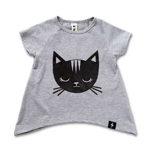 Jungle Kitty Raglan T-shirt - LAST ONE size 000