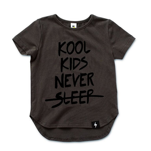 Kool Kids Drop Back T-shirt - LAST ONE size 000
