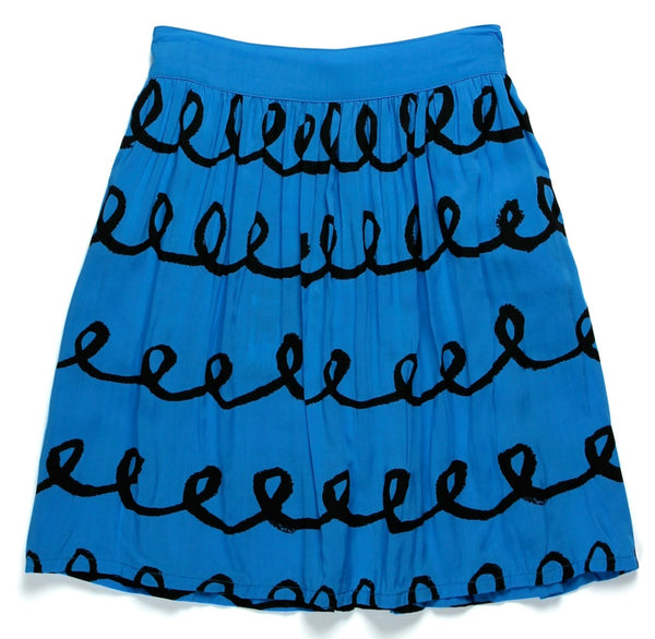 Loops Skirt - Blue