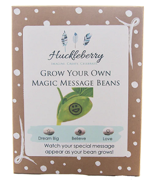 Grow Your Own Magic Message Bean Kit