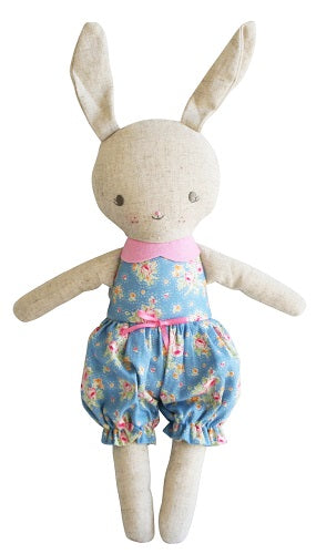 Rosie Romper Bunny 30cm Blossom Blue Pink