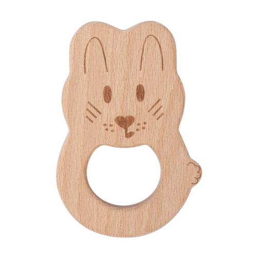 Kippin Natural Beech Wood Teething Toy - River