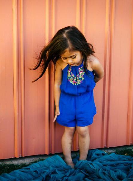 Cobalt Blue Playsuit