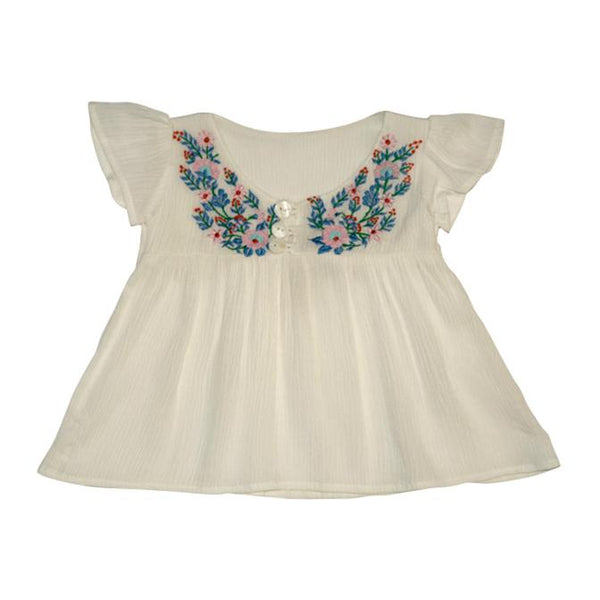 Butterfly Top - White