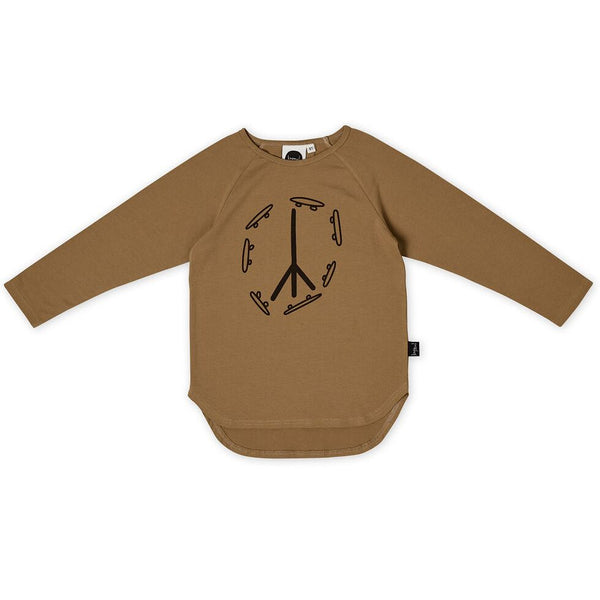 Skate & Peace Placement LS T-shirt