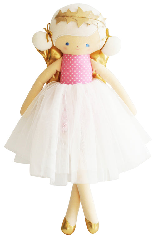 Willow Fairy Doll - Pink Star 48cm