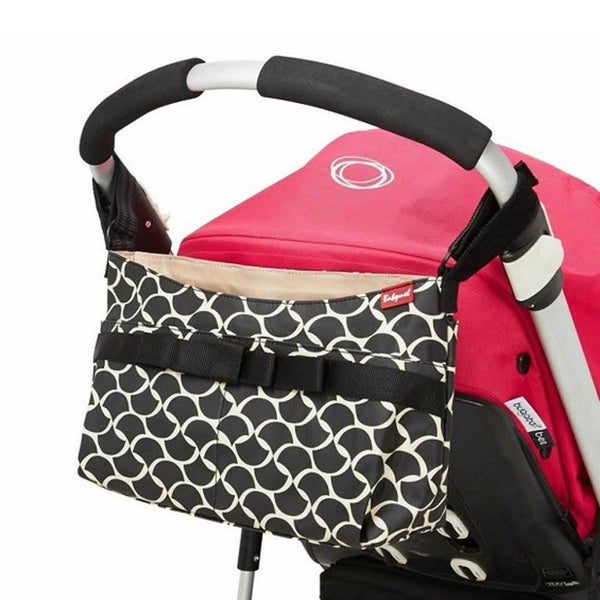 Caddy Stroller Organiser - Black Wave