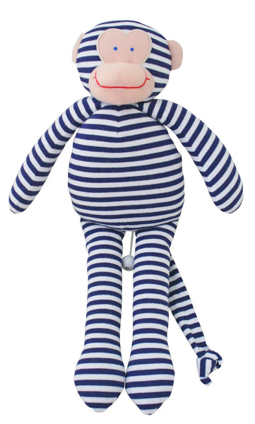 Musical Monkey - Navy Stripe